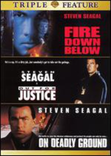 Fire Down Below/ Out For Justice/ On Deadly Ground [2 Discs] [Triple Feature] [Double Amaray Case]