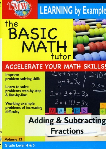 Basic Math: Adding & Subtracting Fractions