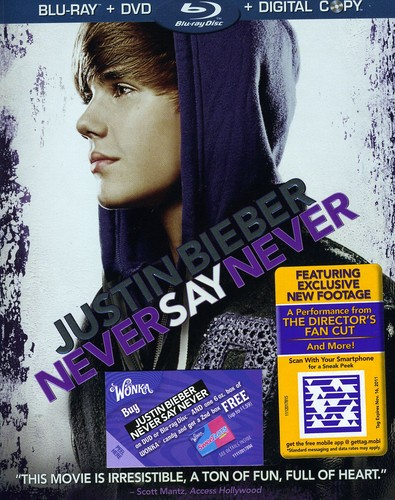Justin Bieber: Never Say Never [WS] [Blu-ray/ DVD/ Digital Copy Combo]