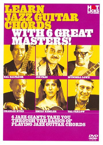 Learn Jazz Chording with 6 Great Masters