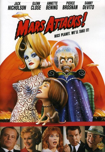 Mars Attacks [Full Frame] [Widescreen] [Repackaged] [Amaray Case]