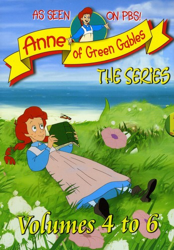 Anne of Green Gables: The Animated Series: Volumes 4-6 (Three-Disc Collection)