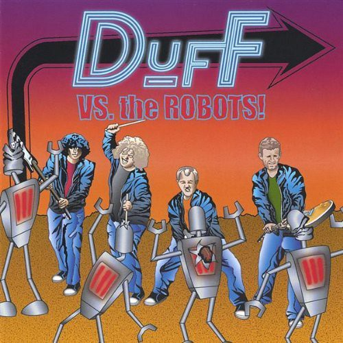 Duff Vs. The Robots!
