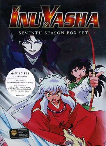 Inu Yasha: Season 7 [Standard] [Digipak] [Slipcase] [Box Set] [4 Discs] [Deluxe Edition] [Limited Edition] [Collectible Inu Yasha Figurine]