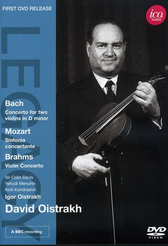 David Oistrakh Plays Violin Concertos