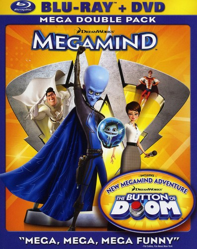 Megamind [Widescreen] [Blu-ray/ DVD Combo] [Foil Embossed O-Sleeve]