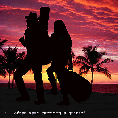 Often Seen Carrying a Guitar