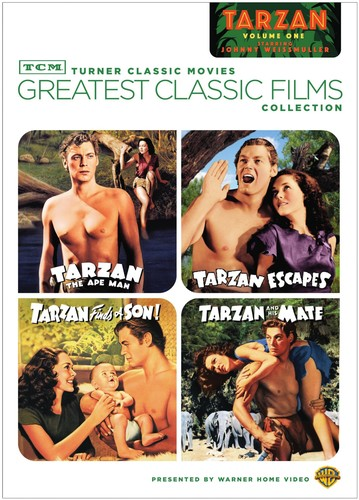 TCM Greatest Classic Films Collection: Johnny Weissmuller as Tarzan Volume One