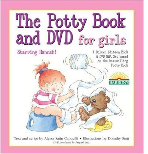 The Deluxe Potty Movie Set - Girls [With Book]