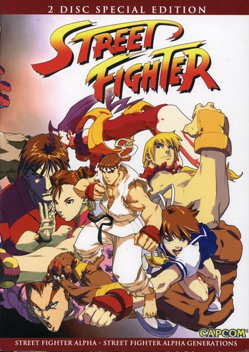 Street Fighter Alpha 2-Disc [WS] [Japanimation]