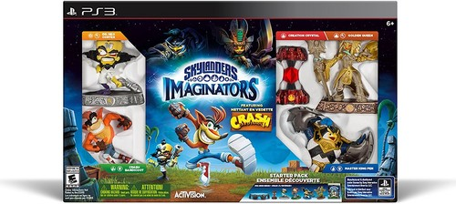 Skylanders Imaginators: Starter Pack - Crash Bandicoot Edition for PS3