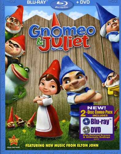 Gnomeo and Juliet [WS] [Blu-ray/ DVD Combo] [2 Discs] [O-Sleeve]