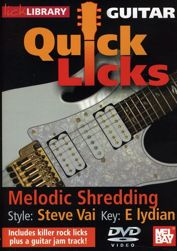 Quick Licks: Stevie Ray Vaughan Melodic Shredding - Key: E Lydian