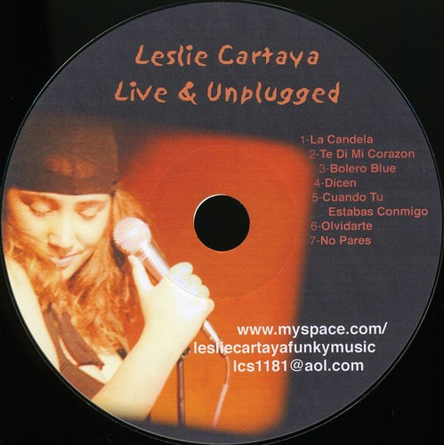 Leslie Cartaya Live & Unplugged