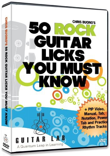 50 Rock Licks You Must Know!