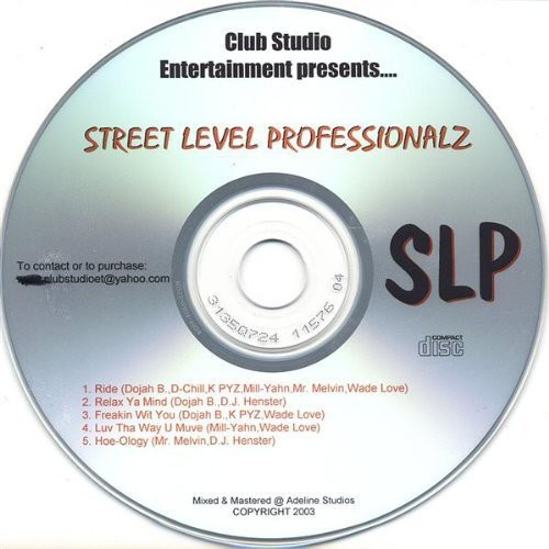 Club Studio Entertainment Presents-Street Level PR
