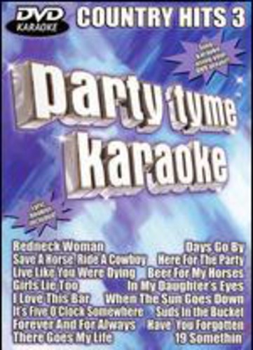Party Tyme Karaoke: Country Hits, Vol. 3