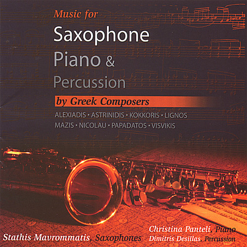 Music for Saxophonepiano & Percussion By Greek Composers