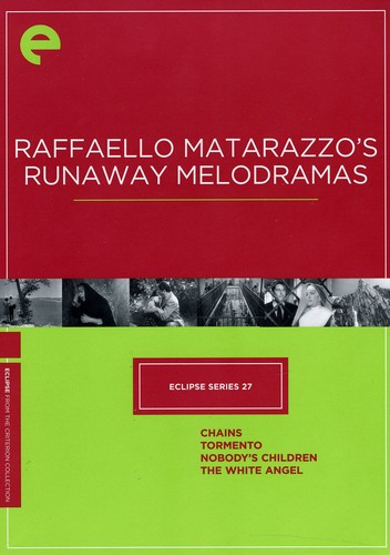 Criterion Collection: Eclipse Series 27 - Raffaello Matarazzo'sRunaway Melodramas [Fullscreen] [Subtitled] [B&W] [Boxset]