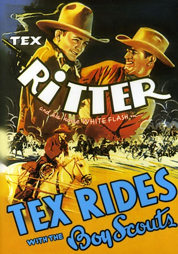 Tex Rides with the Boy Scouts