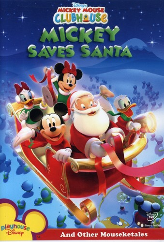Mickey Saves Santa & Other Mouseketales