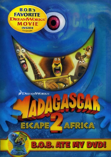 Madagascar: Escape 2 Africa [WS] [B.O.B. Ate MY DVD O-Sleeve]