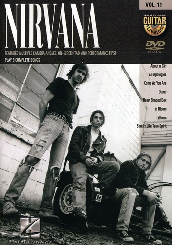 Guitar Play Along: Nirvana, Vol. 11