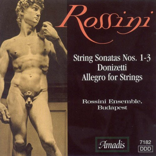String Sonatas 1-3 /  Allegro for Strings