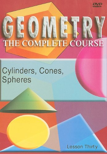 Cylinders, Cones and Spheres