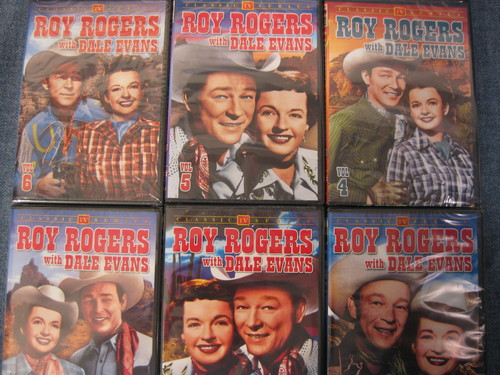 Roy Rogers with Dale Evans 1-6