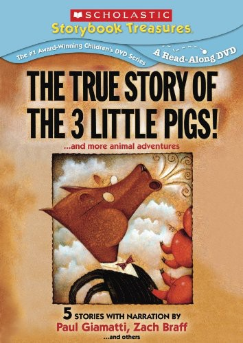 The True Story of the Three Little Pigs...And More Animal Adventures
