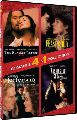 4-In-1 Romance: Scarlet Letter /  Washington Square