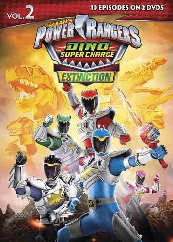 Power Rangers Dino Super Charge Extinction, Vol. 2