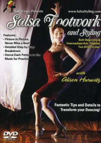 Salsa Dance Footwork & Styling