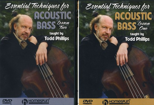 Acoustic Bass, Vol. 1 and 2 [Instructional]