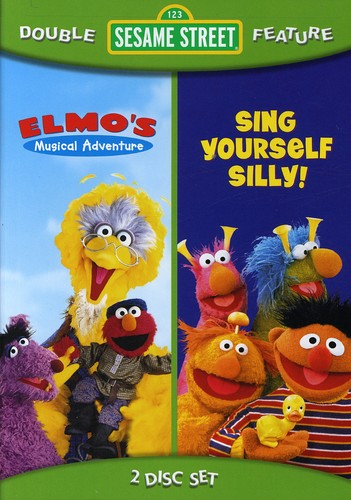 Sing Yoursel Silly/ Elmo's Musical Adventure [Full Frame] [Double Feature] [2 Discs]