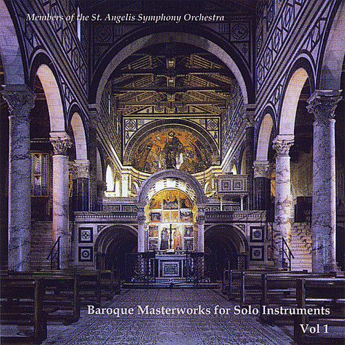 Baroque Masterworks for Solo Instruments 1