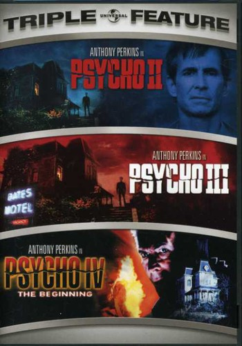 Psycho 2-4 [Triple Feature] [2 Discs]