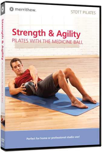 Stott Pilates: Strength & Agility: Pilates With the Medicine Ball DVD, Eng