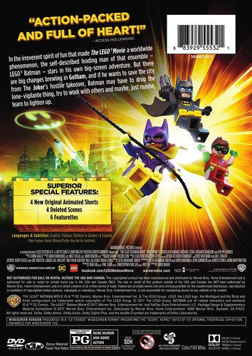 The Lego Batman Movie (Special Edition)