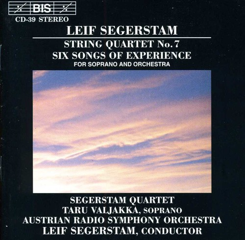 String Quartet 7 /  6 Songs of Experience