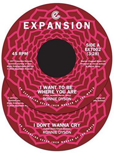 I Want to Be Where You Are/ I Don't Wanna Cry [Import]
