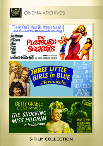 The Pleasure Seekers /  Three Little Girls in Blue /  The Shocking Miss Pilgrim