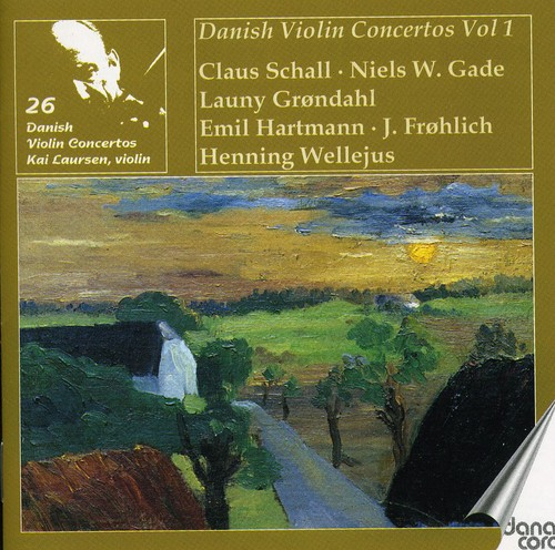 Kai Laursen Plays 26 Danish Violin Concertos 1