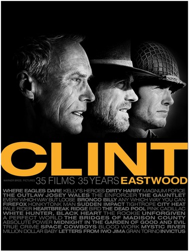 Clint Eastwood: 35 Films 35 Years [Box Set] [Collectible DVD Album Packaging] [Repacked]