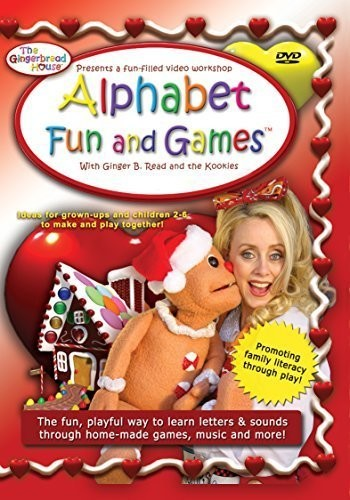 Gingerbread House Alphabet Fun & Game