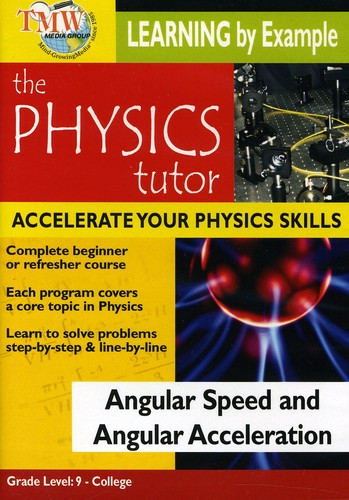 Angular Speed and Angular Acceleration