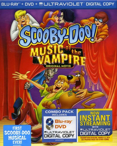 Scooby-Doo! Music Of The Vampire [Blu-ray/ DVD] [O-Sleeve]