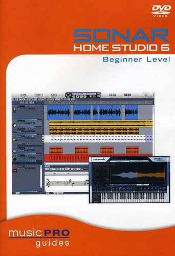Sonar Home Studio 6 Beginner Level