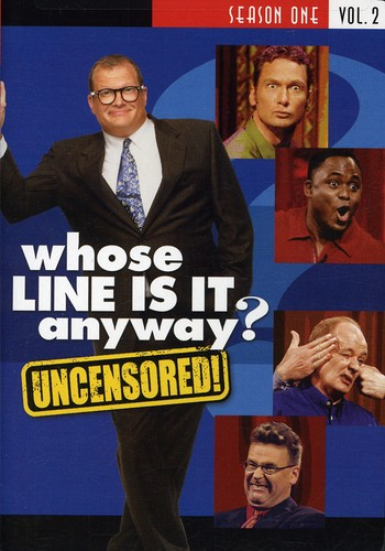 Whose Line Is It Anyway: Season 1, Vol. 2 [Standard] [Uncensored] [2 Discs]